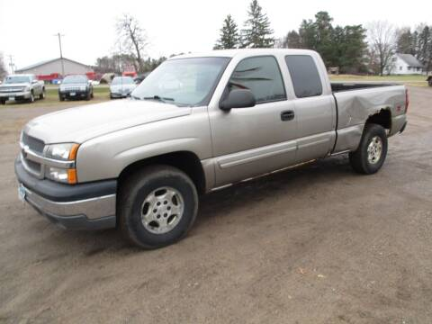 2003 Chevrolet Silverado 1500 for sale at D & T AUTO INC in Columbus MN