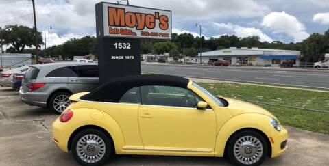 2013 Volkswagen Beetle for sale at Moye's Auto Sales Inc. in Leesburg FL