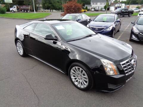 2012 Cadillac CTS for sale at BETTER BUYS AUTO INC in East Windsor CT