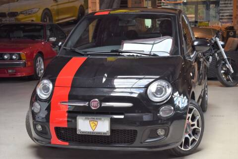 2012 FIAT 500 for sale at Chicago Cars US in Summit IL