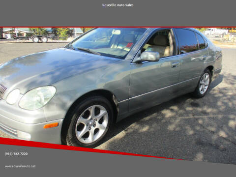 2002 Lexus GS 300 for sale at Roseville Auto Sales in Roseville CA