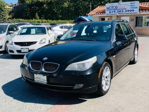 2010 BMW 5 Series for sale at MotorMax in Lemon Grove CA