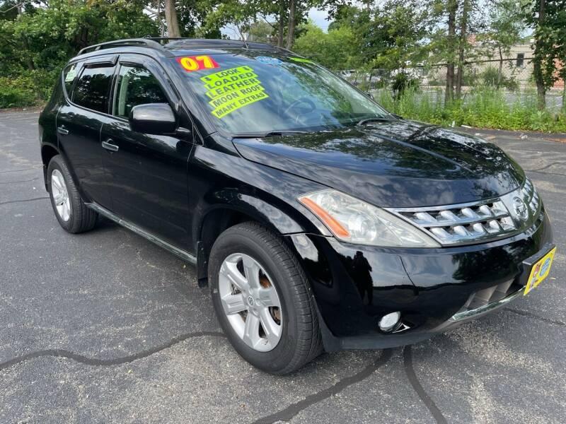 2007 Nissan Murano for sale at Fields Corner Auto Sales in Boston MA