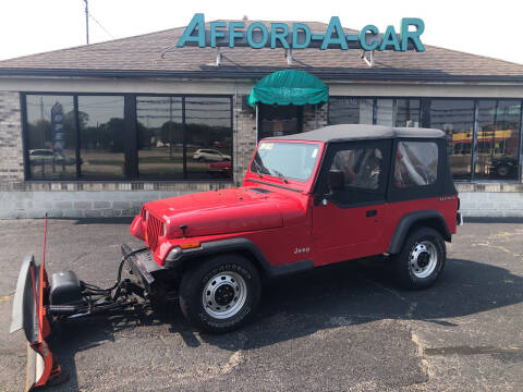 1991 Jeep Wrangler for sale at Afford-A-Car in Moraine OH