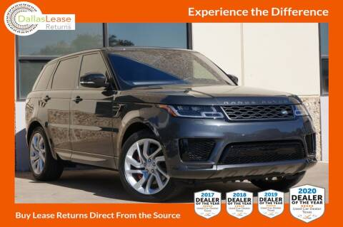 2019 Land Rover Range Rover Sport for sale at Dallas Auto Finance in Dallas TX