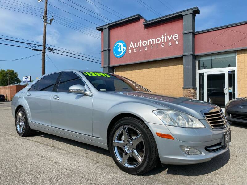2007 Mercedes-Benz S-Class for sale at Automotive Solutions in Louisville KY
