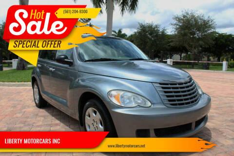 2009 Chrysler PT Cruiser for sale at LIBERTY MOTORCARS INC in Royal Palm Beach FL
