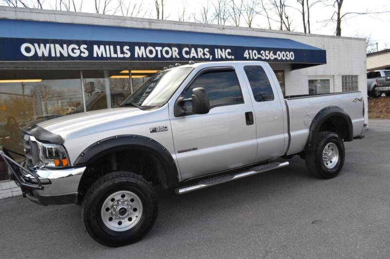 2000 Ford F-350 Super Duty for sale at Owings Mills Motor Cars in Owings Mills MD