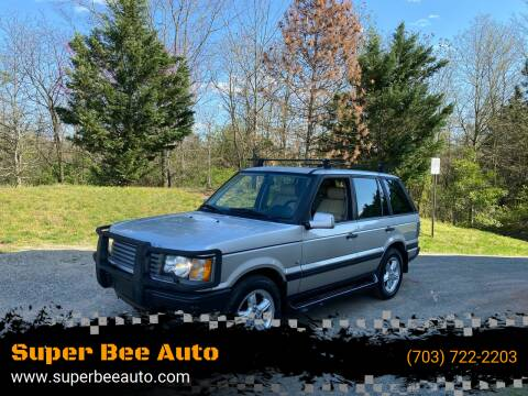 2000 Land Rover Range Rover for sale at Super Bee Auto in Chantilly VA