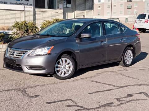 2015 Nissan Sentra for sale at Clean Fuels Utah in Orem UT