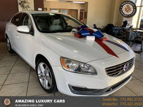 2015 Volvo S60 for sale at Amazing Luxury Cars in Snellville GA