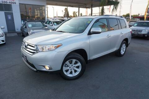 2012 Toyota Highlander for sale at Industry Motors in Sacramento CA