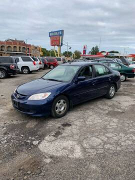 2005 Honda Civic for sale at Big Bills in Milwaukee WI