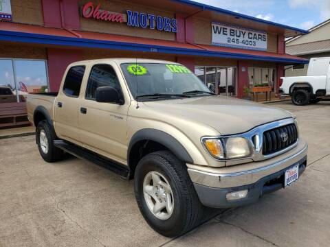 2003 Toyota Tacoma for sale at Ohana Motors - Lifted Vehicles in Lihue HI