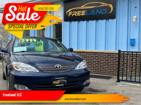 2003 Toyota Camry for sale at Freeland LLC in Waukesha WI
