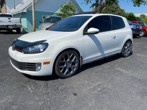 2013 Volkswagen GTI for sale at MARK CRIST MOTORSPORTS in Angola IN