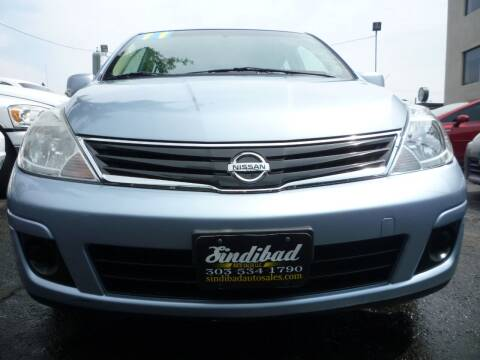 2011 Nissan Versa for sale at Sindibad Auto Sale, LLC in Englewood CO