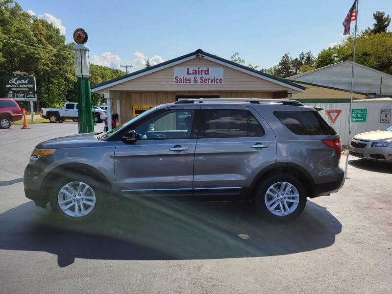 2013 Ford Explorer for sale at LAIRD SALES AND SERVICE in Muskegon MI