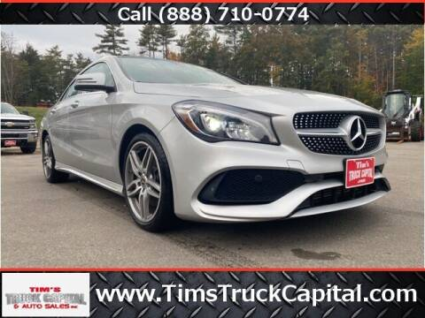 2018 Mercedes-Benz CLA for sale at TTC AUTO OUTLET/TIM'S TRUCK CAPITAL & AUTO SALES INC ANNEX in Epsom NH