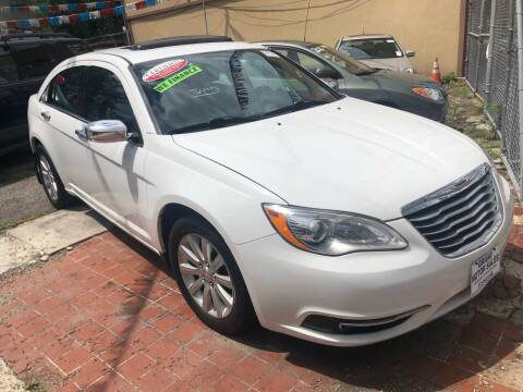 2014 Chrysler 200 for sale at GARET MOTORS in Maspeth NY