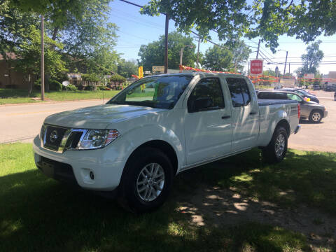 2014 Nissan Frontier for sale at Antique Motors in Plymouth IN
