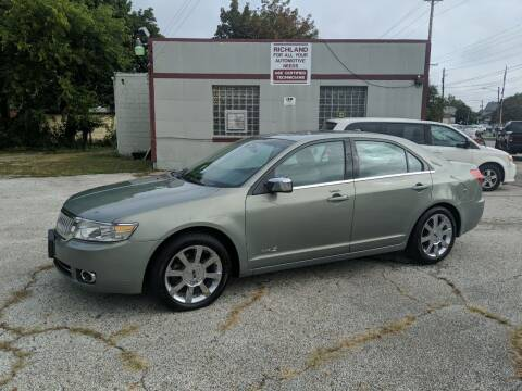 2009 Lincoln MKZ for sale at Richland Motors in Cleveland OH
