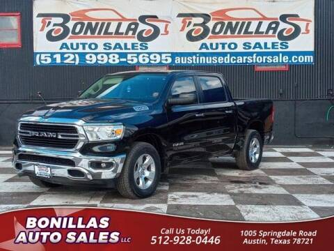 2019 RAM Ram Pickup 1500 for sale at Bonillas Auto Sales in Austin TX