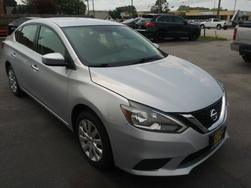 2016 Nissan Sentra for sale at ENZO AUTO in Parma OH