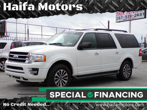2016 Ford Expedition EL for sale at Haifa Motors in Philadelphia PA