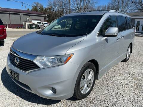 2014 Nissan Quest for sale at Davidson Auto Deals in Syracuse IN