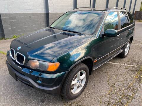 2002 BMW X5 for sale at APX Auto Brokers in Lynnwood WA