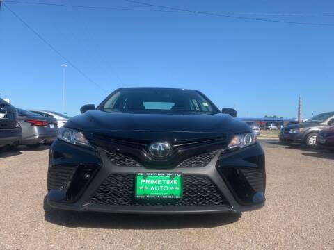 2019 Toyota Camry for sale at Primetime Auto in Corpus Christi TX