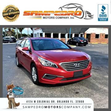 2017 Hyundai Sonata for sale at SAMPEDRO MOTORS COMPANY INC in Orlando FL