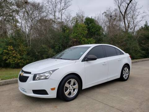 2014 Chevrolet Cruze for sale at Houston Auto Preowned in Houston TX