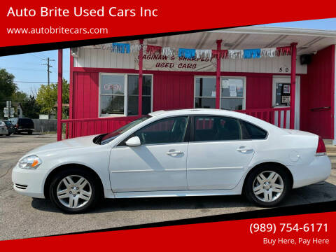 2015 Chevrolet Impala Limited for sale at Auto Brite Used Cars Inc in Saginaw MI