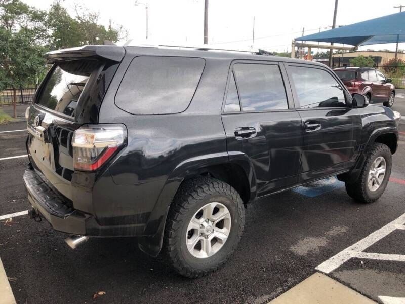 2016 Toyota 4Runner for sale at Gold Star Motors Inc. in San Antonio TX