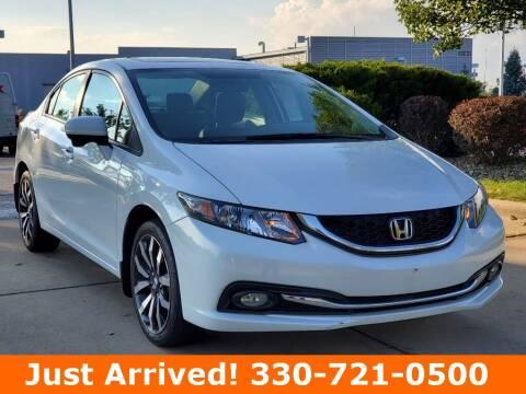 2015 Honda Civic for sale at Ken Ganley Nissan in Medina OH
