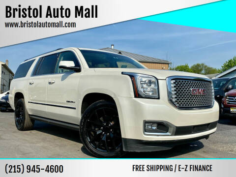 2015 GMC Yukon XL for sale at Bristol Auto Mall in Levittown PA