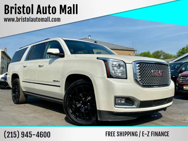 2015 GMC Yukon XL for sale at Bristol Auto Mall in Levittown PA