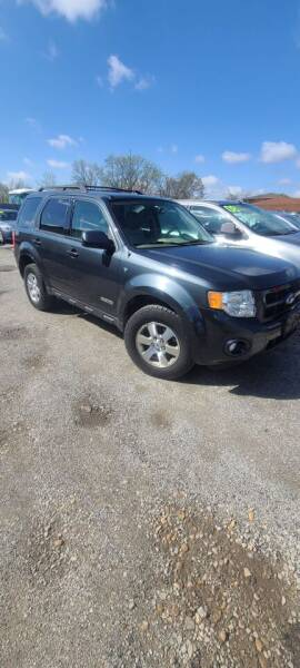 2008 Ford Escape for sale at Chicago Auto Exchange in South Chicago Heights IL