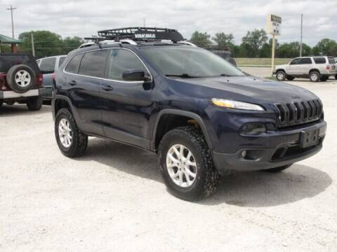 2015 Jeep Cherokee for sale at Frieling Auto Sales in Manhattan KS