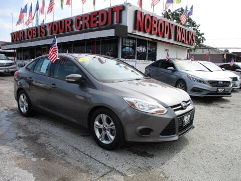2014 Ford Focus for sale at Giant Auto Mart 2 in Houston TX