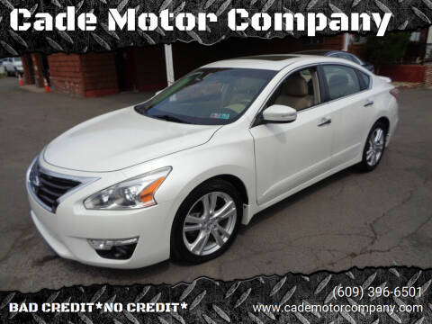 2013 Nissan Altima for sale at Cade Motor Company in Lawrenceville NJ