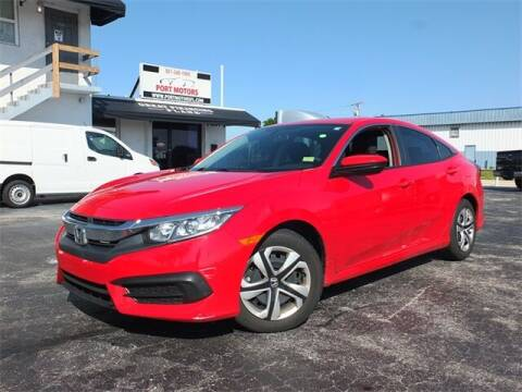 2018 Honda Civic for sale at Automotive Credit Union Services in West Palm Beach FL