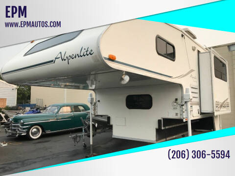 2005 Alpenlite Cheyenne for sale at EPM in Auburn WA