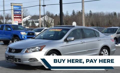 2008 Honda Accord for sale at Broadway Motor Car Inc. in Rensselaer NY
