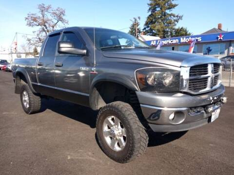 2007 Dodge Ram Pickup 2500 for sale at All American Motors in Tacoma WA