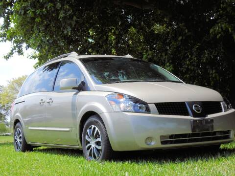 2005 Nissan Quest for sale at M.D.V. INTERNATIONAL AUTO CORP in Fort Lauderdale FL