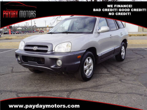 2006 Hyundai Santa Fe for sale at Payday Motors in Wichita And Topeka KS