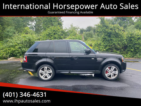 2013 Land Rover Range Rover Sport for sale at International Horsepower Auto Sales in Warwick RI